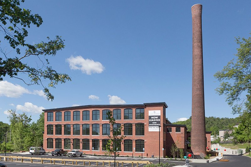 Fitchburg Yarn Works Historic Mill Renovation